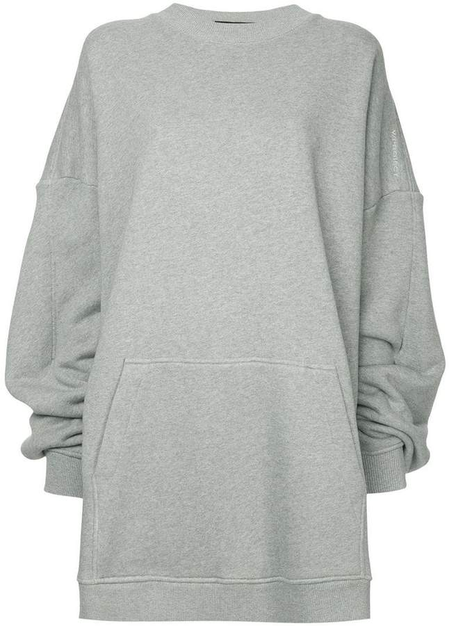 Y/Project Y / Project oversized paneled hoodie