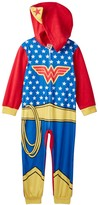AME Wonder Woman Hooded Fleece Costume Blanket Sleeper (Toddler Girls)