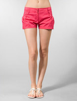 Twelfth Street By Cynthia Vincent Pebble Beach Bubble Short in Hot Pink