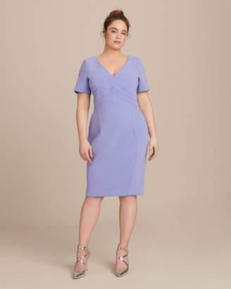Zac Posen Bonded Crepe Dress