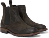 Belstaff - Lancaster Burnished-suede Chelsea Boots