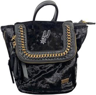 San Antonio Spurs Velvet Mini Backpack
