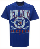 Majestic Men's New York Rangers Vintage Five on Five T-Shirt