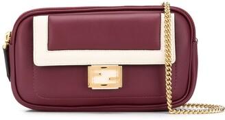 Fendi mini leather Baguette bag