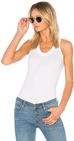 Monrow Jersey Narrow Tank in White. - size S (also in )