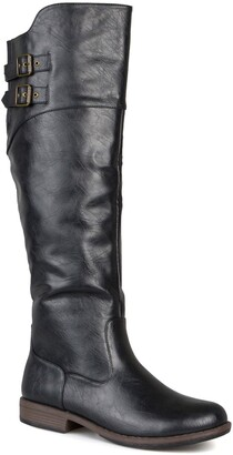 Journee Collection Tori Riding Boot - Extra Wide Calf