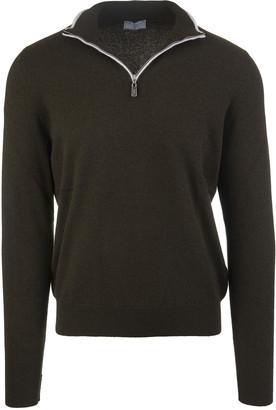 Fedeli Dark Brown Favonio Vintage Pullover