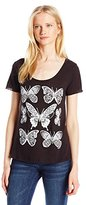O'Neill Women's Juniors Lacewing Sunrise Graphic Tee