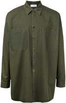Faith Connexion chest pocket overshirt - men - Cotton - XS
