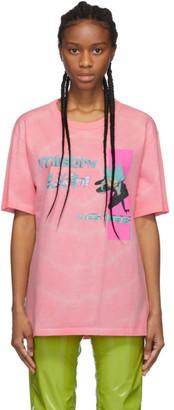 Misbhv Pink Tie-Dye Anime T-Shirt