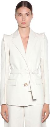 Kenzo Tailored Soft Linen Drill Jacket