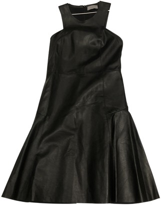 Mulberry Black Leather Dresses