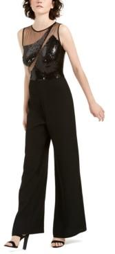 SHO Illusion Sequin Jumpsuit