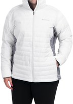 Columbia Powder Pillow Hybrid Jacket - Insulated (For Plus Size Women)