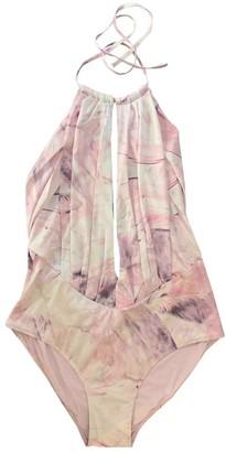 La Perla Pink Lycra Swimwear for Women