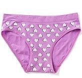 Copper Key Big Girls 7-16 Heart-Print Seamless Panties