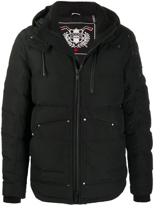 Moose Knuckles Hooded Down Padded Coat