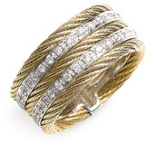 Charriol Exclusively by ALOR 'Classique' 5 Row Diamond Ring