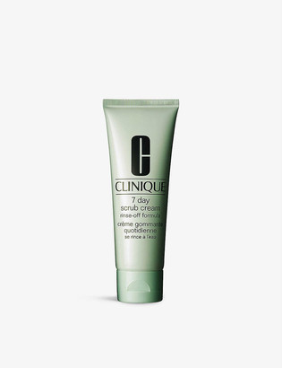 Clinique 7 Day Scrub Cream Rinse–Off Formula for all skin types 100ml