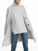 White + Warren Luxe Melange Patch Pocket Cardigan