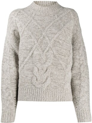 IRO Cable-Knit Jumper