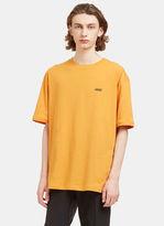 Raf Simons Men's Hyena Crew Neck T-shirt In Orange