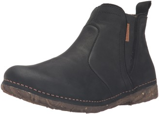 El Naturalista Womens N959 Pleasant Black/Angkor Ankle Boots