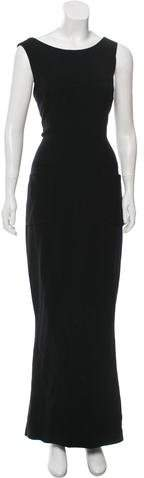 Chanel Wool Maxi Dress