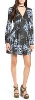 Astr 'Mabel' Fit & Flare Dress