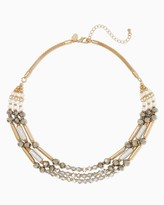 Charming charlie Sparkle Shine Beaded Necklace