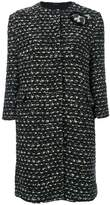 Ermanno Scervino tweed cropped coat