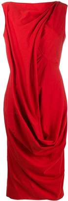 Rick Owens draped design dress