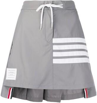 Thom Browne 4-Bar stripe mini skirt