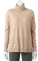SONOMA Goods for Life Women's SONOMA Goods for LifeTM Boxy Turtleneck Sweater