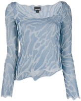 Just Cavalli metallic thread jumper