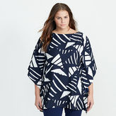 Ralph Lauren Woman Graphic-Print Poncho