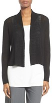 Eileen Fisher Women's Organic Linen Blend Crop Cardigan