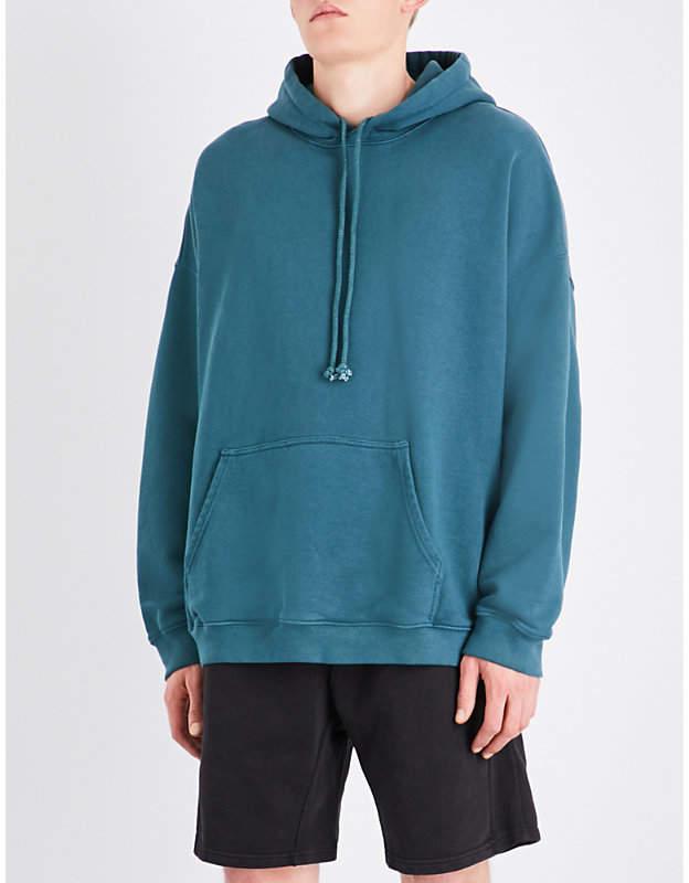 Yeezy Season 5 oversized cotton-jersey hoody