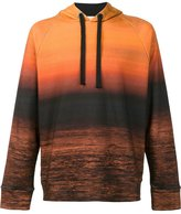 OSKLEN sunset print hoodie - men - Cotton - P