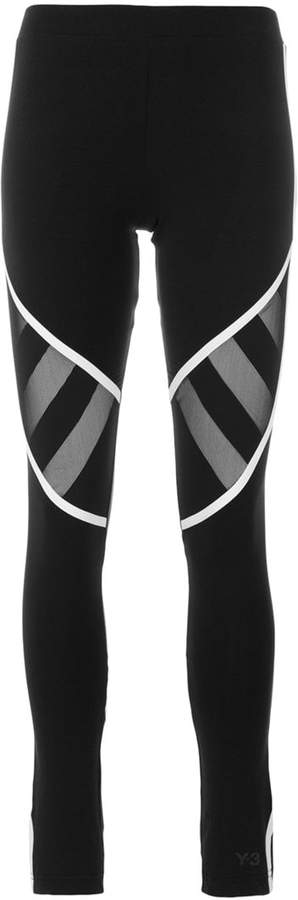 Y-3 mesh panel leggings