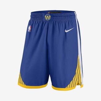 Nike Men's NBA Shorts Golden State Warriors Icon Edition Swingman