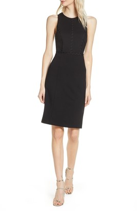 Ali & Jay First Point Rickrack Trim Sheath Dress
