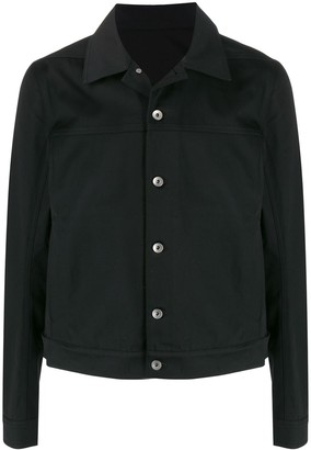 Rick Owens Button-Down Drill Shirt Jacket