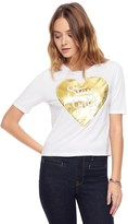 Juicy Couture Stay Gold Fashion Graphic Tee
