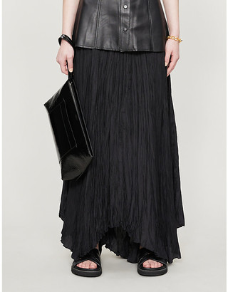 Joseph Nanco habotai silk maxi skirt