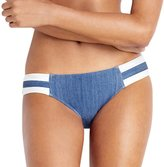 Seafolly Women's Block Party Spliced Swim Hipster Swim Bottom