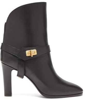 Givenchy Eden Leather Boots - Womens - Black