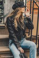 Urban Outfitters Pebbled Leather Moto Jacket
