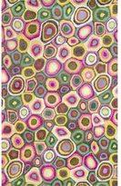 Liora Manné Pink Swirl Pattern Indoor Rug (3'6 x 5'6)