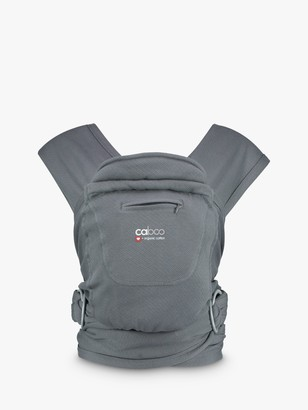 Close Caboo + Organic Baby Carrier, Pewter